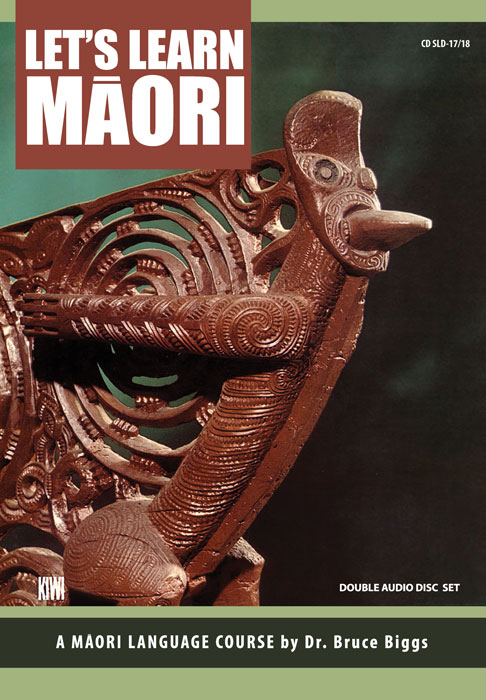 LET�S LEARN MAORI - CD SLD-17/18 - Double Compact Disc set