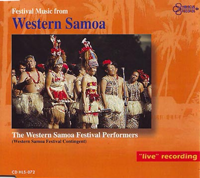 FESTIVAL MUSIC FROM WESTERN SAMOA