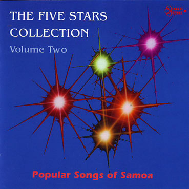 THE FIVE STARS - Popular Songs of Samoa (Volume 2)