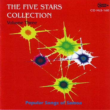 THE FIVE STARS - Popular Songs of Samoa (Volume 3)