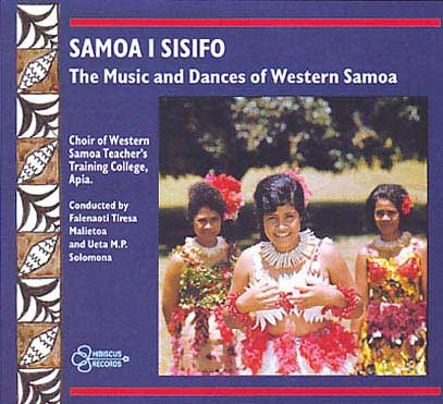 WESTERN SAMOAN TEACHERS' TRAINING COLLEGE - Music and Dances
