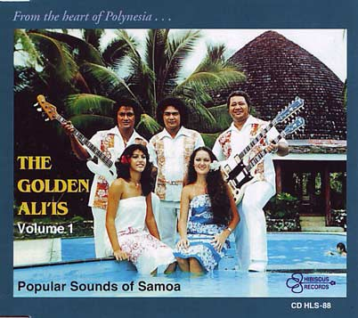 THE GOLDEN ALI'IS - Popular Sounds of Samoa