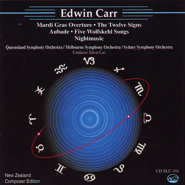 EDWIN CARR - Orchestral works