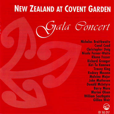 NEW ZEALAND AT COVENT GARDEN - Gala Concert