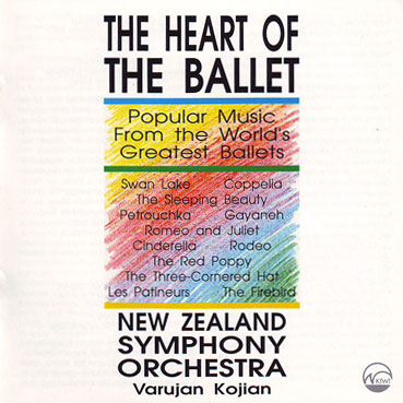 NEW ZEALAND SYMPHONY ORCHESTRA - The Heart of the Ballet