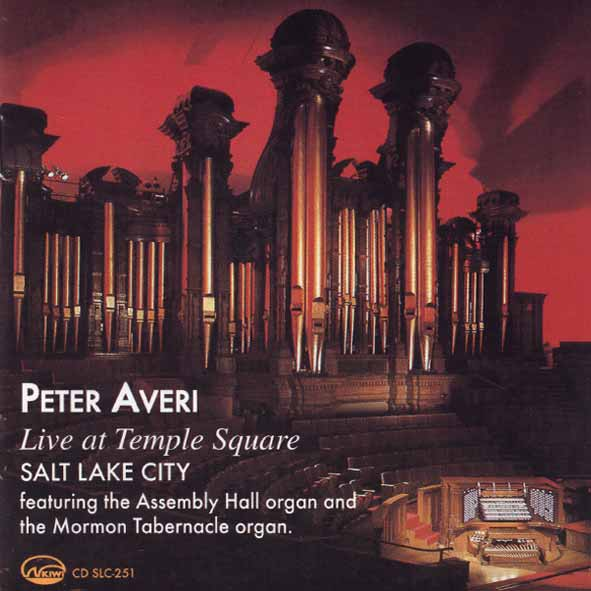 PETER AVERI - At Temple Square, Salt Lake City