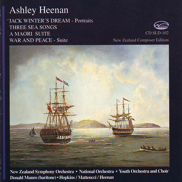ASHLEY HEENAN - orchestral works