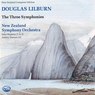DOUGLAS LILBURN  - The Three Symphonies