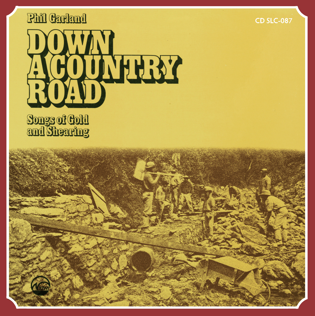 PHIL GARLAND - Down A Country Road