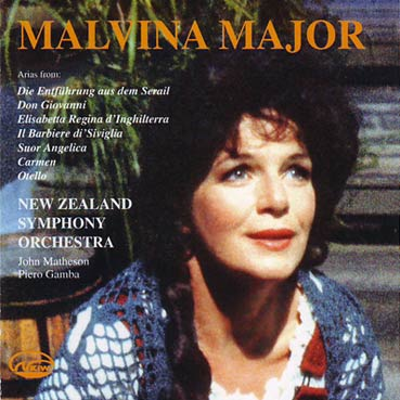 MALVINA MAJOR - Operatic Arias