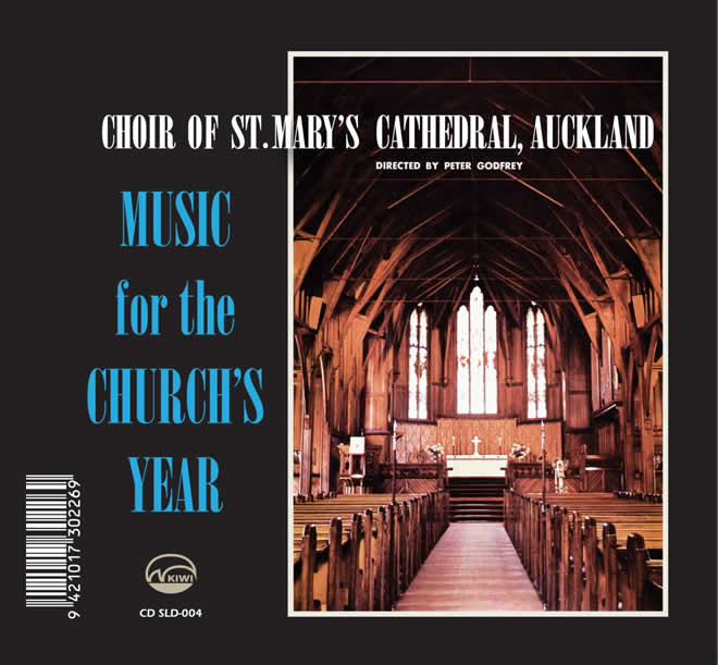 CHOIR OF ST MARY'S CATHEDRAL, AUCKLAND - Music for the Church's